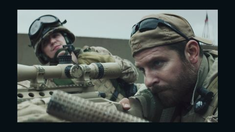"""<strong>Best picture: </strong>""""American Sniper"""" (pictured), """"Birdman or (The Unexpected Virtue of Ignorance),"""" """"Boyhood,"""" """"The Grand Budapest Hotel,"""" """"The Imitation Game,"""" """"Selma,"""" """"The Theory of Everything"""" and """"Whiplash."""""""