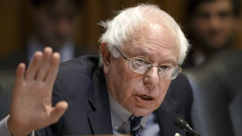 """<a href=""""http://www.cnn.com/2015/04/28/politics/bernie-sanders-2016-election-announcement/index.html"""">Sen. Bernie Sanders</a>, an independent from Vermont who caucuses with Democrats, has said the United States needs a """"political revolution"""" of working-class Americans looking to take back control of the government from billionaires. He first announced the run in an email to supporters early on the morning of Thursday, April 30."""