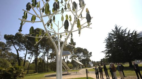 """A """"Wind Tree"""" will go on display at Place de la Concorde, Paris, between March 12 and May 12 2015."""