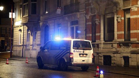 The trio targeted in the raid had been under surveillance for some time, prosecutor's spokesman Thierry Werts told reporters.