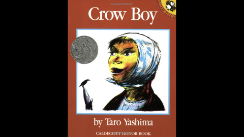 """""""Crow Boy,"""" by Taro Yashima, tells the story of a boy rejected at school, and a kind teacher who helps him find acceptance."""