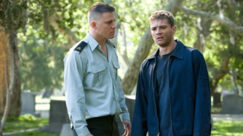 """The 2008 drama """"Stop-Loss"""" starred Channing Tatum and Ryan Phillippe as troubled Iraq War vets who struggle to adapt to life back home in Texas. Audiences largely ignored it."""