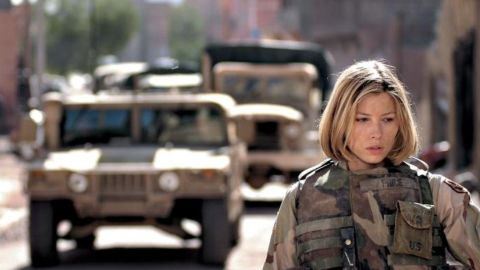 """Jessica Biel co-starred in """"Home of the Brave,"""" a little-seen 2006 drama about Army National Guard soldiers adjusting to life back home after serving in Iraq."""