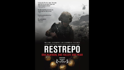 """Filmmakers Sebastian Junger and Tim Hetherington spent a year embedded with a U.S. Army platoon in Afghanistan. Their resulting 2010 documentary, """"Restrepo,"""" was hailed as a visceral look at modern warfare."""