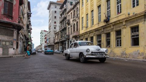 """Cuban author Pedro Juan Gutierrez has spent three decades watching -- and writing about -- the streets of what he calls Central Havana's """"dirty"""" reality."""
