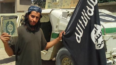 Abdelhamid Abaaoud is a suspected terror cell ringleader who is at large, a Belgian official says.