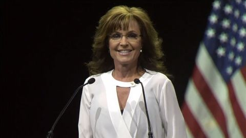 """Palin shocked both liberal and conservative commentators at the National Rifle Association's annual meeting in April when she said, """"Well, if I were in charge, they would know that waterboarding is how we baptize terrorists."""""""