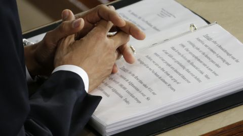 Obama's speech was more than 6,000 words long.