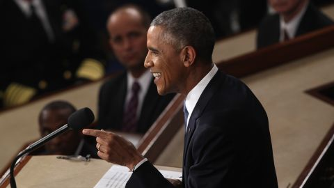 """Obama said policies he outlined in the speech favor the middle class, and that """"middle-class economics works."""""""