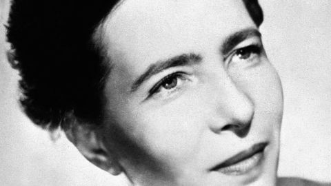 """Simone de Beauvoir's best-selling book """"The Second Sex"""" is often seen as a pivotal text in feminist philosophy."""