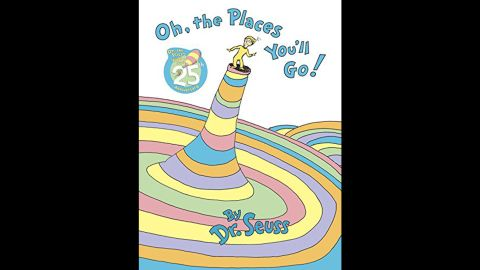 """Dr. Seuss' """"Oh, The Places You'll Go!"""" debuted in 1990 and is author and illustrator Theodor Geisel's top-selling book."""