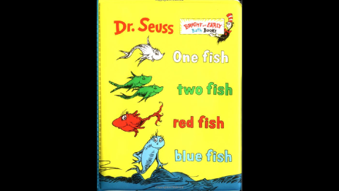 """""""One Fish, Two Fish, Red Fish, Blue Fish"""" was published in 1960."""