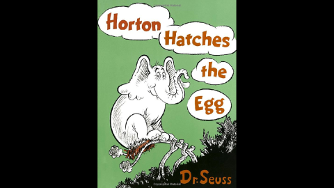 """""""Horton Hatches the Egg"""" was published in 1940."""
