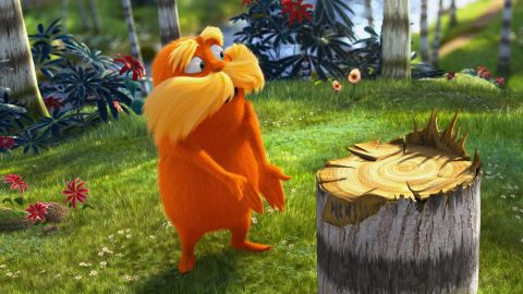 """A film version of """"The Lorax"""" was released in 2012."""