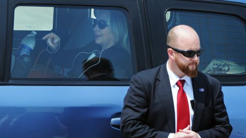 Hillary Clinton did not have 65 Secret Service agents with her in Canada, a source tells CNN.