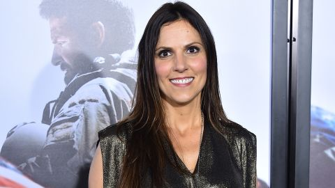 NEW YORK, NY - DECEMBER 15: Taya Kyle arrives at the 'American Sniper' New York Premiere at Frederick P. Rose Hall, Jazz at Lincoln Center on December 15, 2014 in New York City. (Photo by Theo Wargo/Getty Image