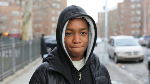 """Vidal Chastanet, 13, praised his principal in a post featured in <a href=""""http://www.humansofnewyork.com"""" target=""""_blank"""" target=""""_blank"""">Humans of New York</a> in February. The picture went viral, prompting Humans of New York creator Brandon Stanton to find out how he could help Mott Hall Bridges Academy in Brownsville, Brooklyn. The story led President Barack Obama to request a meeting with Chastanet. Naturally, he obliged."""