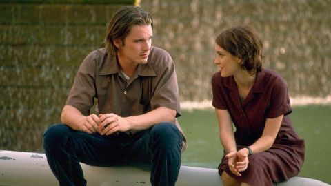 """The dictionary might as well use a photo of """"Reality Bites"""" as the definition for the '90s. The 1994 film, directed by Ben Stiller, had it all: Winona Ryder, right; Ethan Hawke, left; Janeane Garofalo and lots of angsty discussion about the meaning of life. For some reason, <a href=""""http://www.cnn.com/2013/08/22/showbiz/reality-bites-comes-to-tv-ew/index.html?iref=allsearch"""" target=""""_blank"""">Stiller has said he wants to bring the movie back as a TV series. </a>"""