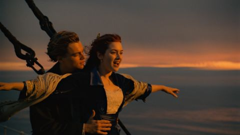 """Near, far, wherever you are, you probably recognize this epic scene from James Cameron's 1997 film """"Titanic."""" The movie, which gave Leonardo DiCaprio official heartthrob status and Kate Winslet an Oscar nomination, is the second-highest grossing film of all time in the States. It also gave Celine Dion a huge hit in the theme song that you are probably hearing in your head right now."""