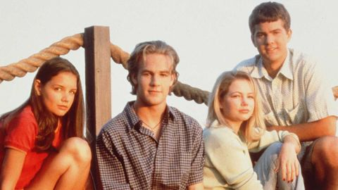 """In 1998, a quad of then-unknown teens stepped into roles that would come to define their lives. """"Dawson's Creek"""" lasted for six seasons, but its popularity is still strong 10 years after the series finale. Need proof? Star James Van Der Beek's role on """"Don't Trust the B----"""" <a href=""""http://www.cnn.com/2013/01/24/showbiz/tv/james-van-der-beek-apartment-23/index.html?iref=allsearch"""" target=""""_blank"""">revolved around the fact that he's """"Beek from the Creek.""""</a>  Katie Holmes (far left), Michelle Williams (third from left); and Joshua Jackson (right) haven't done too badly for themselves, either."""