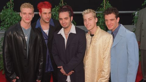 """The Backstreet Boys had to battle for boy band domination in the late '90s with the likes of 'N Sync, fronted at the time by a curly-haired Justin Timberlake, left. (The mystery of those curls has remained unsolved.) Interestingly enough, the tables have now turned: Whereas 'N Sync was killing it in 1998, <a href=""""http://marquee.blogs.cnn.com/2013/08/27/the-one-n-sync-member-who-wants-a-reunion-tour/?iref=allsearch"""" target=""""_blank"""">in 2013 they could barely reunite for more than a minute.</a> In 2017 <a href=""""http://money.cnn.com/2016/09/23/media/backstreet-boys-vegas-residency/"""" target=""""_blank"""">they launched a Vegas residency. </a>"""