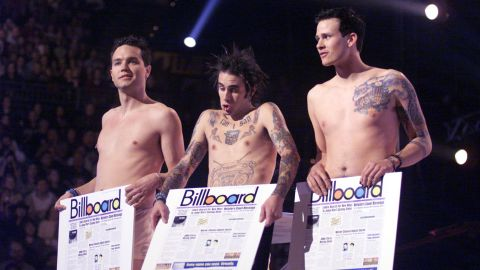 """California trio Blink-182 was on its fourth album when it hit radio paydirt in 1999. With songs such as """"All the Small Things"""" and """"What's My Age Again?,"""" Blink-182 became a household name after seven years in the industry."""