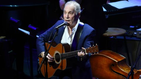 Paul Simon performs onstage during The Nearness Of You Benefit Concert at Frederick P. Rose Hall, Jazz at Lincoln Center on January 20, 2015 in New York City.