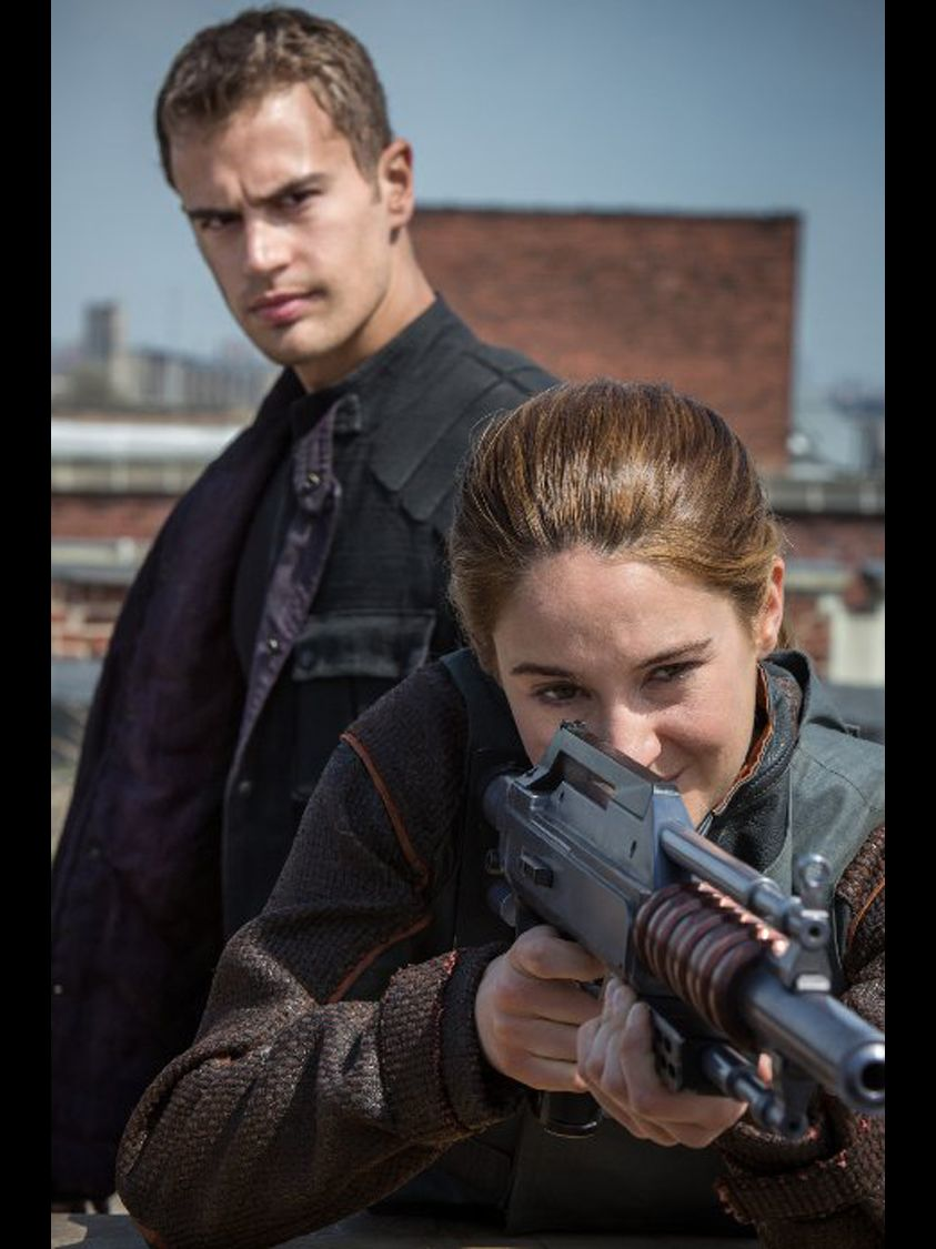 """""""The Hunger Games"""" was one of the original dystopian series, featuring futuristic, dark settings where teens battle the odds (or adults) to save humanity. Veronica Roth's """"Divergent"""" trilogy continues in this vein with weapon-toting, butt-kicking heroine Tris Prior (Shailene Woodley on the big screen)."""