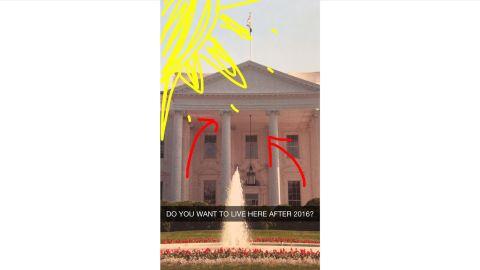Ashley Codianni Snapchats with Senator Rand Paul