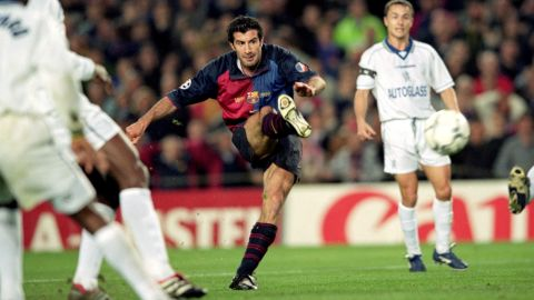 So when it was announced he was leaving to join Barca's biggest rival, Real Madrid, it was seen as not just a betrayal of the club but the whole region. Figo became public enemy number one in Catalonia.