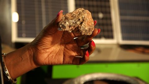 This piece of volcanic rock heats up and acts as an alternative fuel for Twine's eco stove. The rocks are reusable for up to two years reducing on household fuel costs as well as being environmentally friendly.