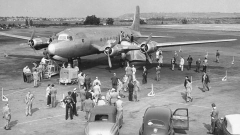 President Harry Truman's official aircraft, the Independence, served as the presidential plane for almost six years until 1953.