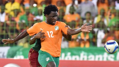 """The Ivory Coast forward completed his <a href=""""https://www.cnn.com/2015/02/02/football/gallery/biggest-january-football-transfers/ht/2015/01/14/football/wilfried-bony-joins-manchester-city/"""" target=""""_blank"""">$42.5 million move from Swansea to Manchester City.</a> It was one of the most expensive transfers in 2015's January window, but Man City will have to wait until he's back from the African Cup of Nations to try him out."""
