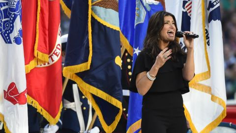 """Idina Menzel sang the national anthem at Super Bowl XLIX. """"The Star-Spangled Banner"""" has a challenging melody, and not everybody has been able to deliver it effectively."""