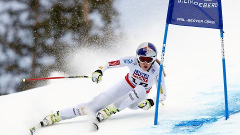 Vonn  returned to the slopes at the Aspen Winternational in November where she began her quest for World Cup glory.