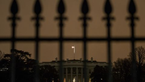 The south side of the White House is seen January 26, 2015 in Washington, DC. A small aerial drone was found on the grounds of the White House but poses no threat, a spokesman for President Obama said on Monday. Josh Earnest, the White House press secretary, said he did not have details about the size or type of the drone, but he said the Secret Service was investigating.