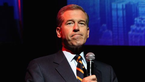 NBC News Anchor Brian Williams speaks onstage at The New York Comedy Festival and The Bob Woodruff Foundation present the 8th Annual Stand Up For Heroes Event at The Theater at Madison Square Garden on November 5, 2014 in New York City.