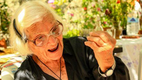 At age 104, Ionna Proiou runs a daily weaving business.