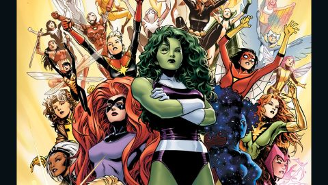 """Marvel Comics announced it will replace all Avengers teams with a new one, composed entirely of women like She-Hulk, Medusa and Dazzler. """"The A-Force"""" comic book hits stores in May."""