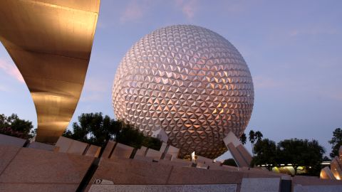 Epcot and other theme parks are in the alert area.
