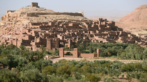"""But Ait-Ben-Haddou has also appeared in numerous other productions including """"Kingdom of Heaven"""" and 2006 Golden Globe winner """"Babel."""""""