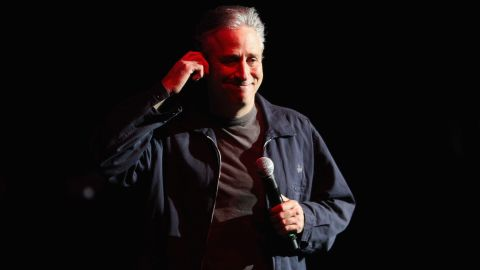 """Stewart, who started his career in stand-up, helped comedians like Stephen Colbert, John Oliver and Steve Carell gain national notoriety though their appearances on """"The Daily Show."""""""