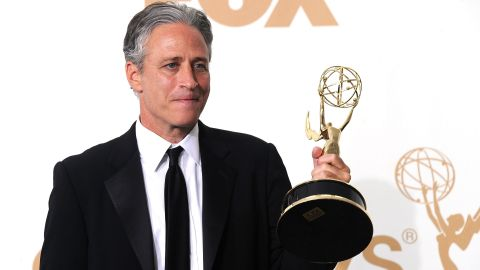 """""""The Daily Show"""" staff has <a href=""""http://www.emmys.com/shows/daily-show-jon-stewart"""" target=""""_blank"""" target=""""_blank"""">won</a> 20 Emmy Awards collectively, including outstanding writing for a variety series and outstanding variety series."""