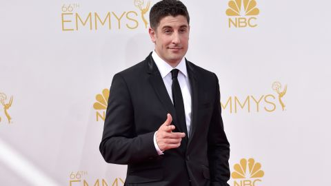 """Actor Jason Biggs came under fire after making what some found to be an insensitive joke after Malaysia Airlines Flight 17 crashed in eastern Ukraine in July. """"Anyone wanna buy my Malaysian Airlines frequent flier miles?"""" he <a href=""""https://twitter.com/JasonBiggs/status/489812067881611264"""" target=""""_blank"""" target=""""_blank"""">tweeted</a>. When the Twitter backlash followed, Biggs didn't back down. """"Hey all you 'too soon' a**holes,"""" <a href=""""https://twitter.com/JasonBiggs/status/489820568968249344"""" target=""""_blank"""" target=""""_blank"""">he wrote</a>, """"it's a f**king joke. You don't have to think it's funny, or even be on my twitter page at all."""""""