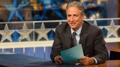 """Jon Stewart, whose wit has defined """"The Daily Show"""" for more than 15 years, will sign off the iconic Comedy Central program<a href=""""http://money.cnn.com/2015/02/10/media/jon-stewart-leaving-daily-show/index.html?iid=SF_MED_Lead"""" target=""""_blank""""> </a>on Thursday, August 6. Here's a look at some memorable moments of Stewart's storied career."""