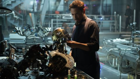 """""""Avengers: Age of Ultron"""" brings back Robert Downey Jr. and the rest of the Marvel crime-fighting gang, as well as writer-director Joss Whedon. The villain: Ultron, voiced by James Spader. The film opened May 1."""