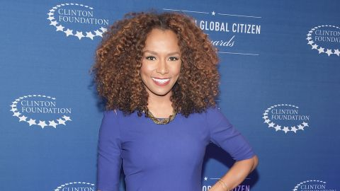 """Transgender activist and author Janet Mock attends the eighth annual Clinton Global Citizen Awards in New York in September 2014. Her 2014 memoir, """"Redefining Realness,"""" was a best-seller."""
