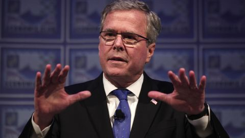 """Jeb Bush: """"You're the greatest mom in the world and we're so inspired by everything that you (do)""""."""
