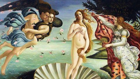 Botticelli was commissioned to produce this work by the renowned Medici family. It is one of the world's most recognizable paintings