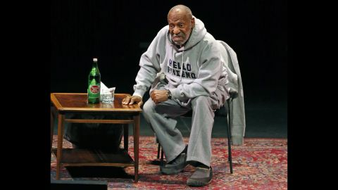 Cosby performs at the Buell Theater in Denver in 2015.